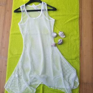 Must Have White Mesh Cover Up